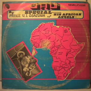 PRINCE V.J OSAZUWA AND HIS AFRICAN ANGELS - Same - 33T