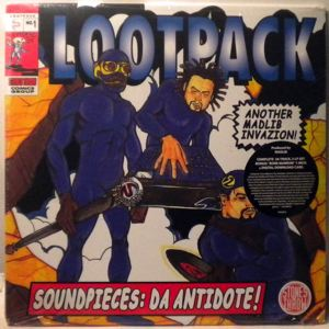 LOOTPACK - Soundpieces: Da Antidote! - LP x 3