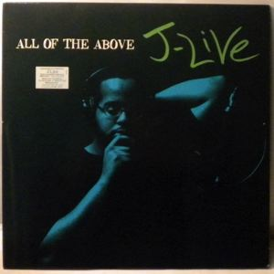 J-LIVE - All Of The Above - LP x 2