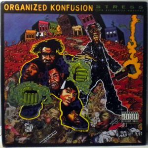 ORGANIZED KONFUSION - The Stress : The Extinsion Agenda - LP
