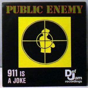 PUBLIC ENEMY - 911 Is A Joke / Revolutionary Generation - 7inch x 1