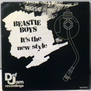 BEASTIE BOYS - It's The New Style / Paul Revere - 7inch x 1