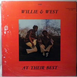 WILLIE & WEST - At their best - 33T