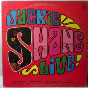 JACKIE SHANE - Live - 33T