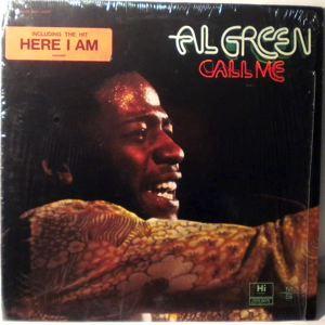 AL GREEN - Call me - 33T