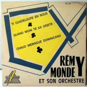 REMY MONDEY - Ti guadeloupe en nous EP - 7inch (SP)