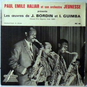 PAUL EMILE HALIAR - Bonne fete bonne anman EP - 45T (SP 2 titres)