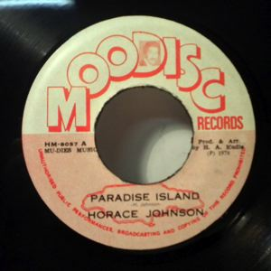 HORACE JOHNSON / MUDIES ALL STARS - Paradise island / Rockers paradies - 7inch (SP)