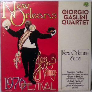 GIORGIO GASLINI QUARTET - New Orleans Suite - LP