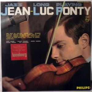 JEAN-LUC PONTY ET SON QUARTET - Jazz Long Playing - LP
