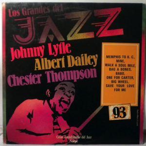 JOHNNY LYTLE - Los Grandes Del Jazz - LP