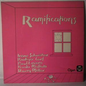 IRENE SCHWEITZER - Ramifications - LP