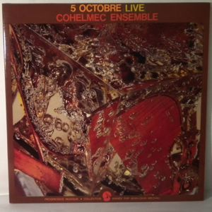COHELMEC ENSEMBLE - 5 Octobre 1974 Live - LP x 2
