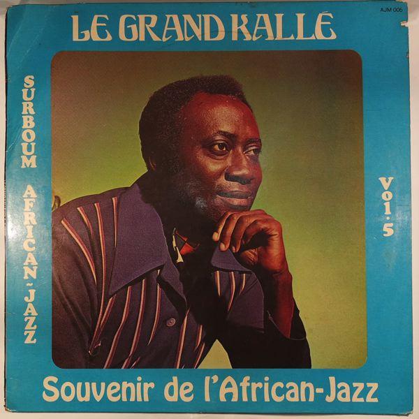 LE GRAND KALLE - Surboum African Jazz Vol. 5 - 33T