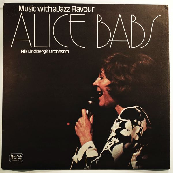 ALICE BABS - Music With A Jazz Flavour - LP