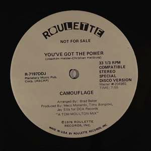 CAMOUFLAGE - You've got the power - Maxi 45T