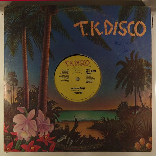 FREEDOM - Get up and dance - Maxi 45T