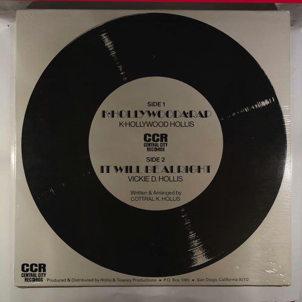 K-HOLLYWOOD HOLLIS - K-hollywood rap - Maxi 45T