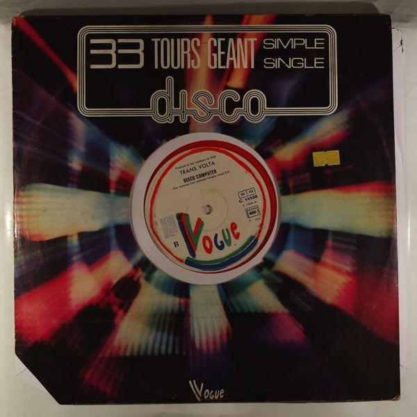 TRANS VOLTA - Disco computer - Maxi 45T