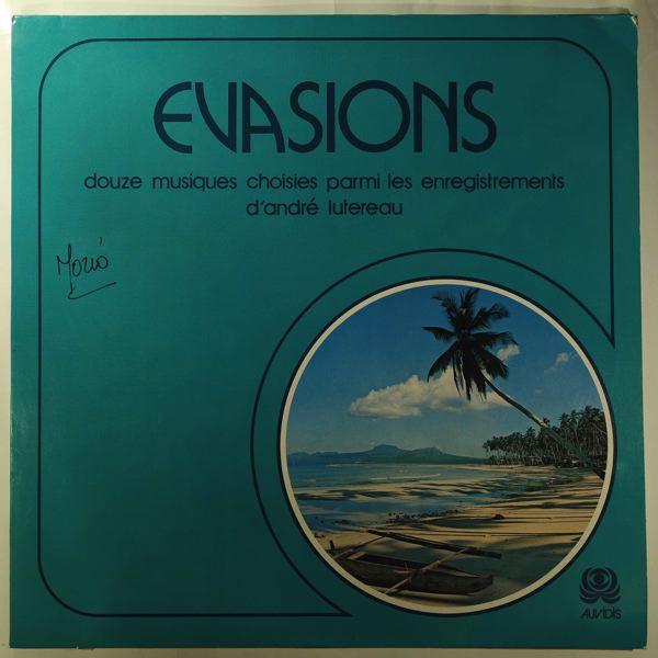 ANDRÈ LUTEREAU - Evasions - LP