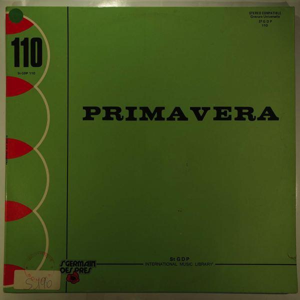 BRUNO NICOLAI - Primavera - LP