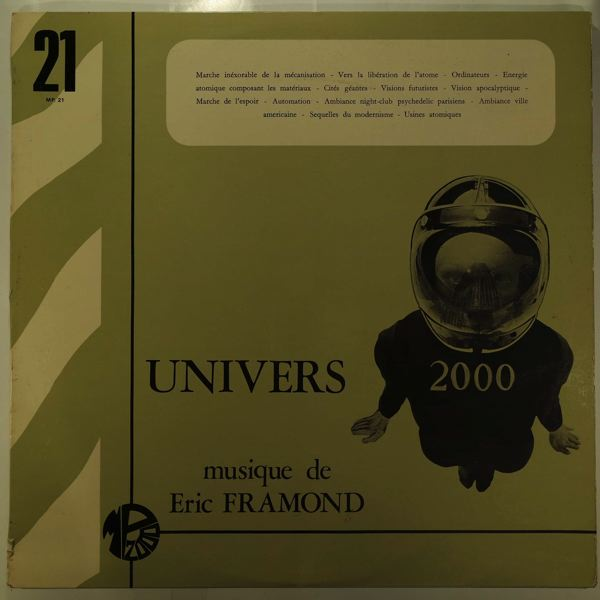 ERIC FRAMOND - Univers 2000 - LP