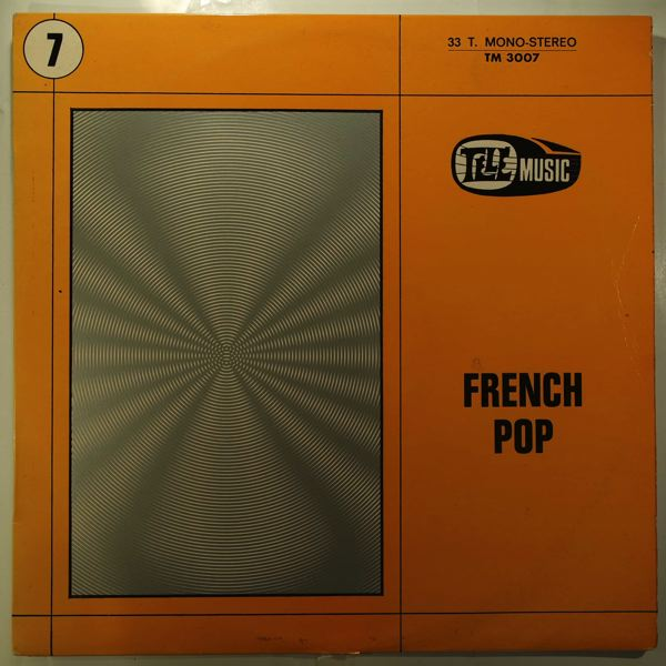 HERVE ROY - French Pop - LP