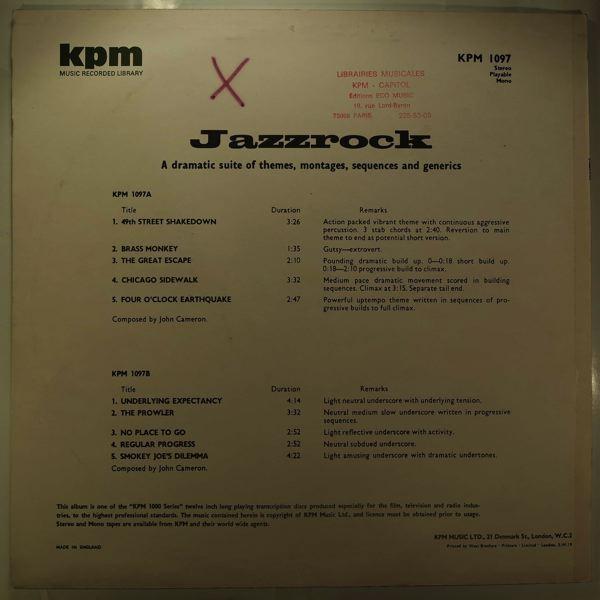 JOHN CAMERON - Jazzrock - LP