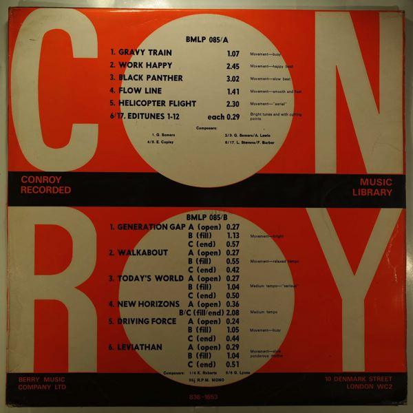 VARIOUS - Conroy BMLP085 - LP