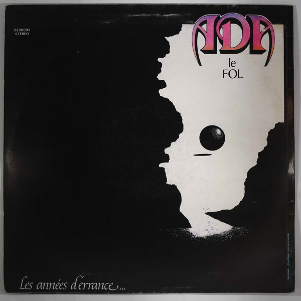 ADA LE FOL - Les Annees d'Errance - LP