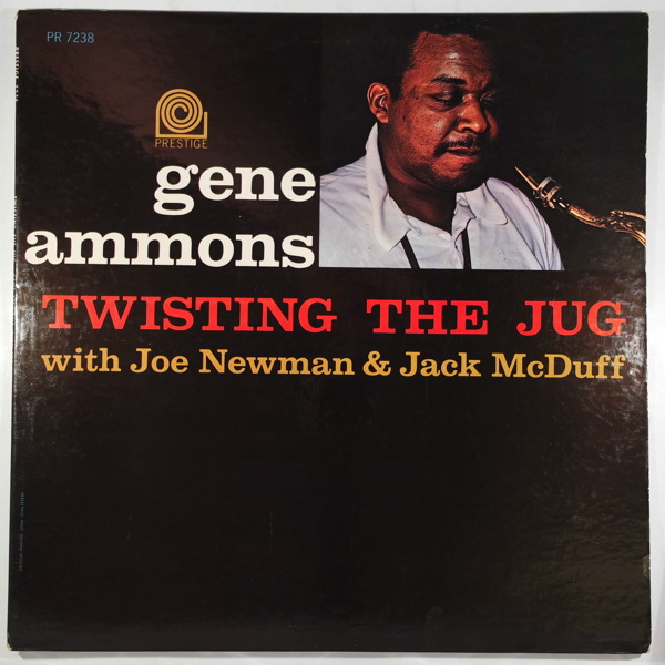 GENE AMMONS - Twisting The Jug - LP
