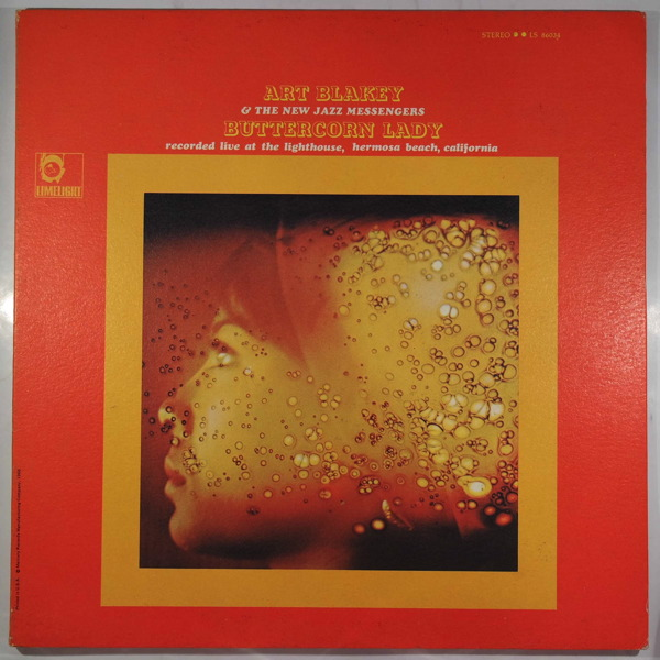 ART BLAKEY & THE NEW JAZZ MESSENGERS - Buttercorn Lady - LP