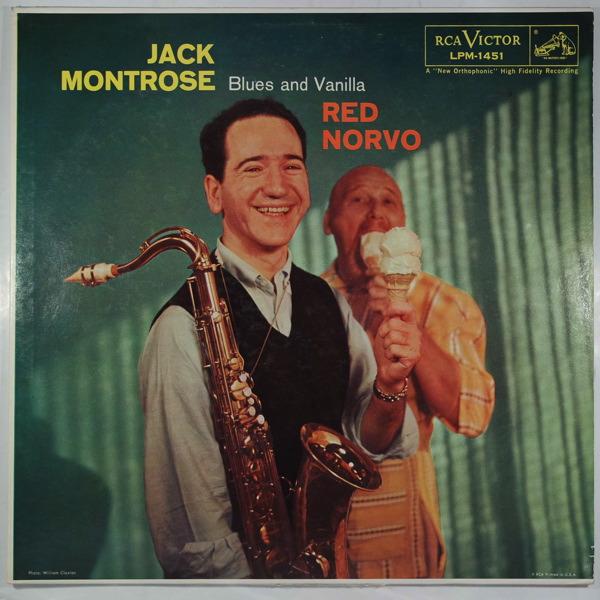 Jack Montrose Quintet Blues And Vanilla