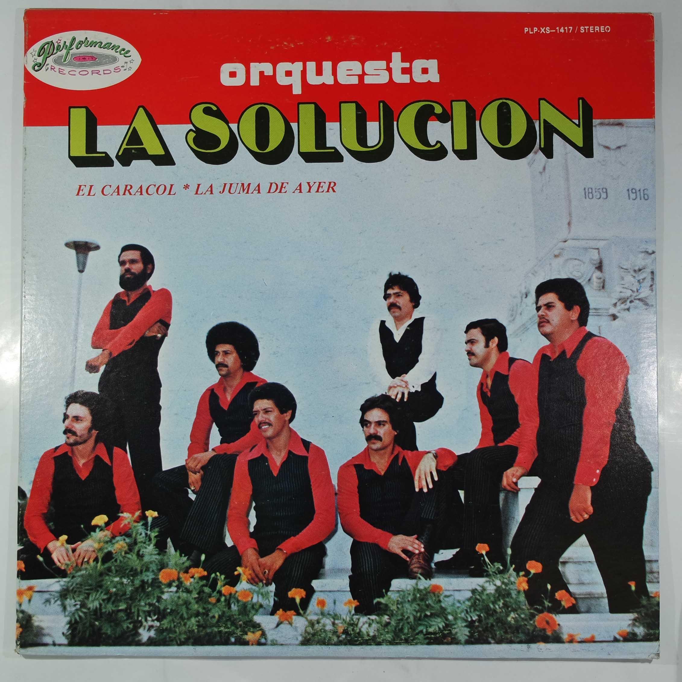ORQUESTA LA SOLUCION - Same - LP