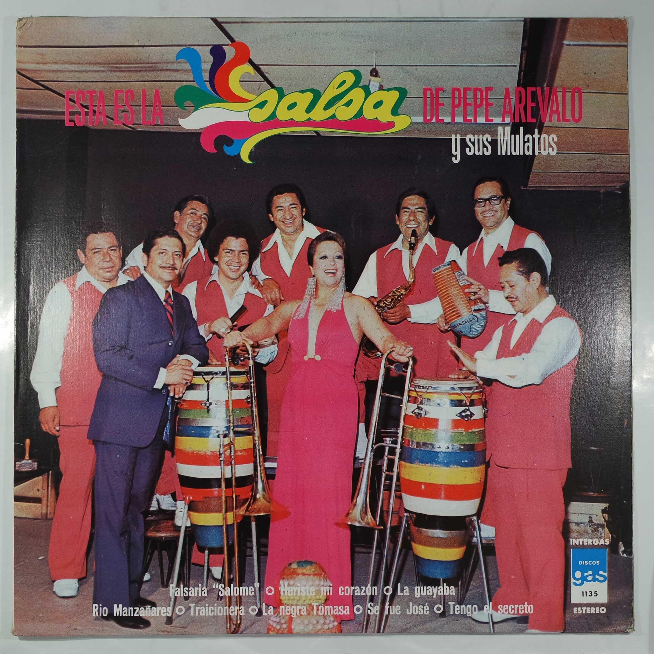 PEPE AREVALO Y SUS MULATOS - Esta Es La Salsa De Pepe Arevalo Y Sus Mulatos - LP