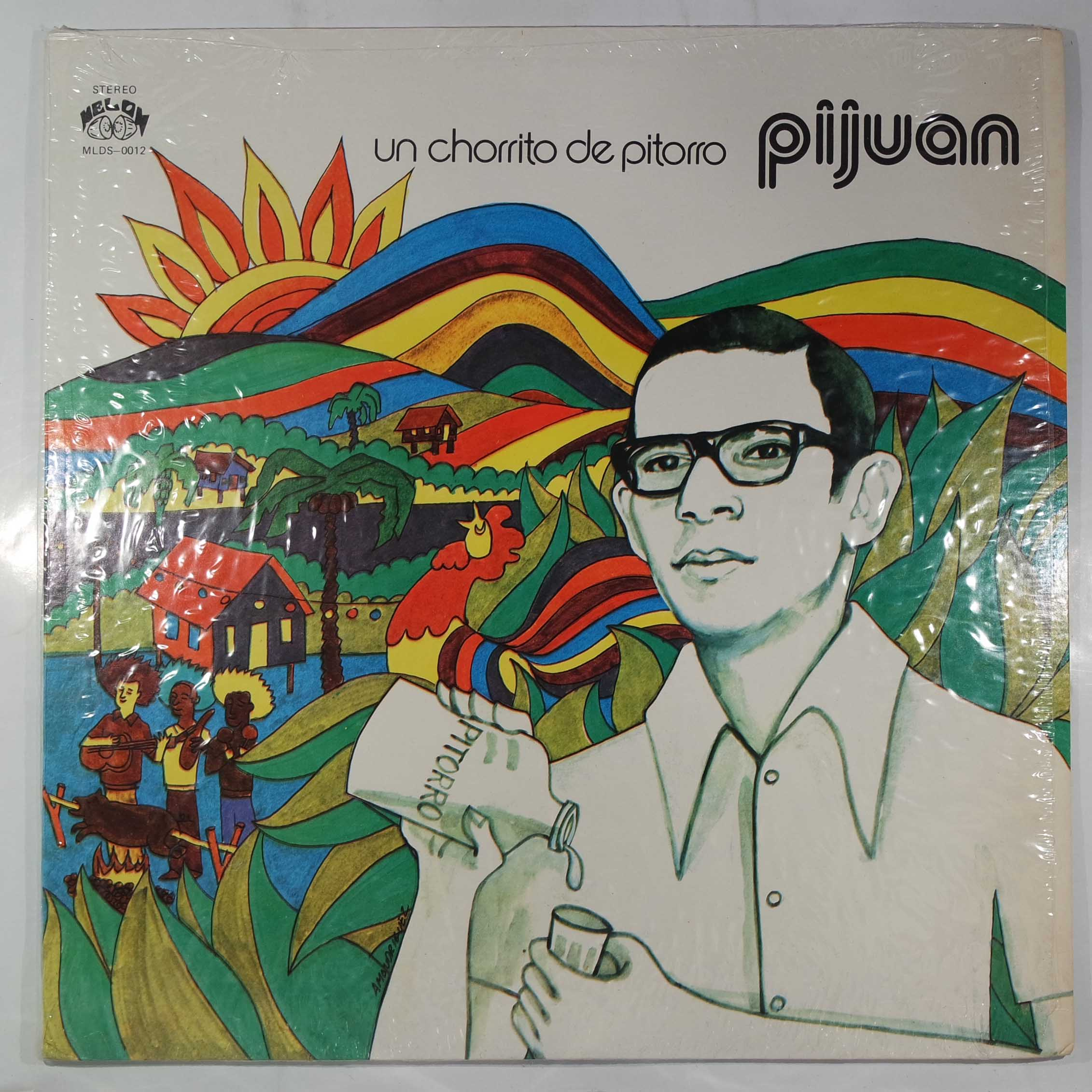 PIJUAN - Y Un Chorrito De Pitorro - LP