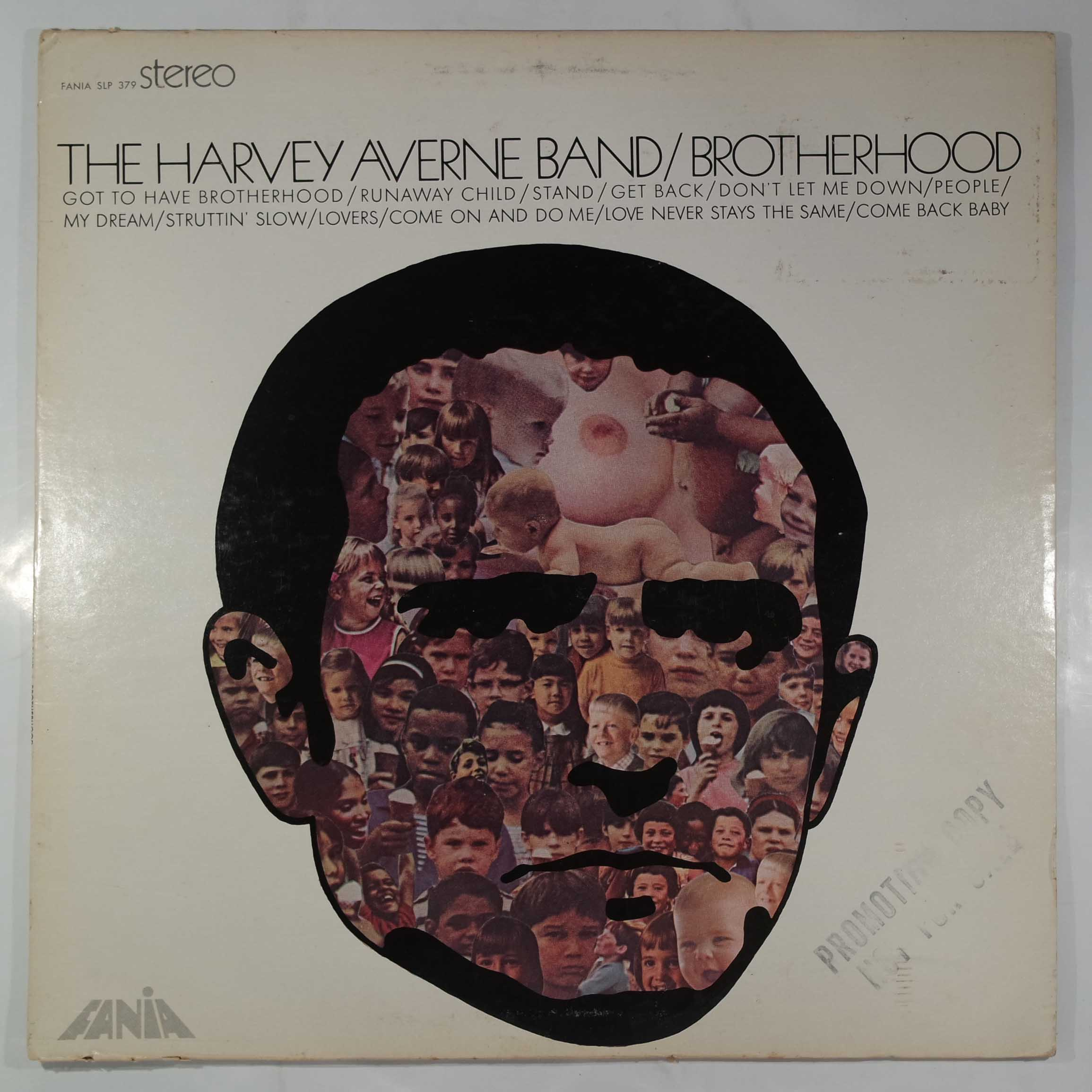 THE HARVEY AVERNE BAND - Brotherhood - LP
