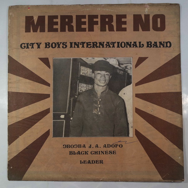 CITY BOYS BAND - Merefre no - LP