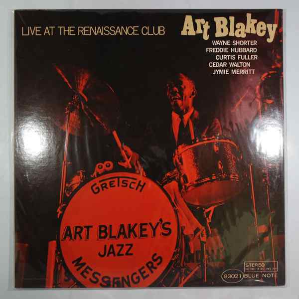 ART BLAKEY - Live At The Renaissance Club - LP