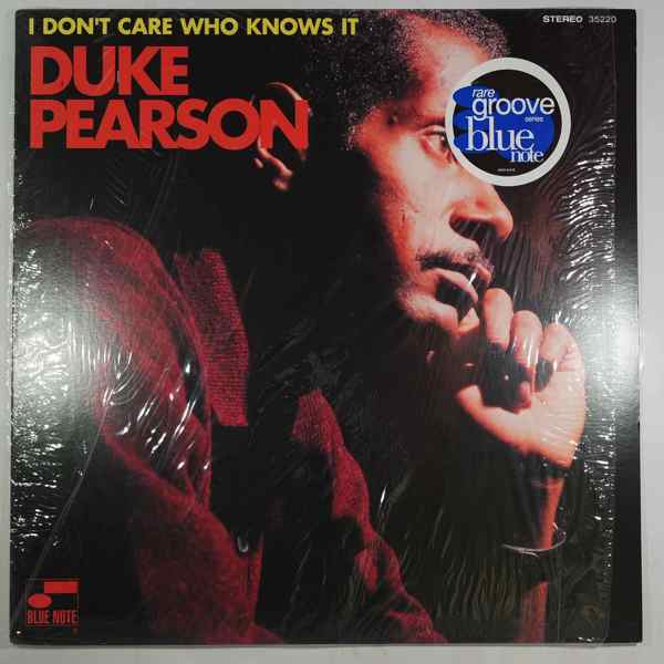 DUKE PEARSON - I Don't Care Who Knows It - LP
