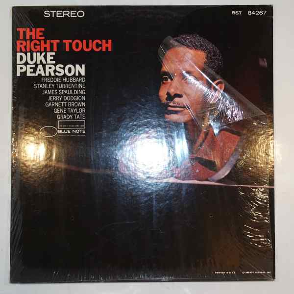 DUKE PEARSON - The Right Touch - LP
