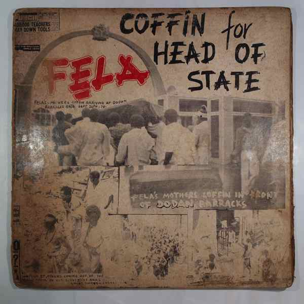 FELA KUTI - Coffin for head of state - LP