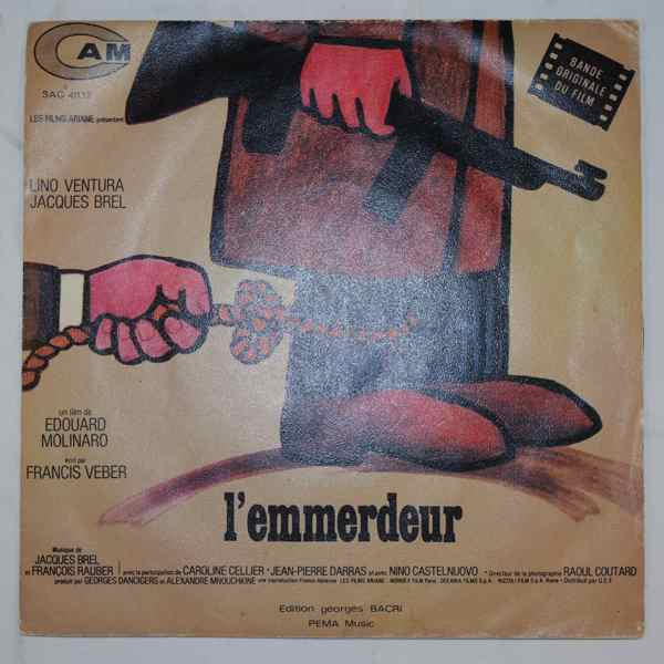 Jacques Brel & Francois Rauber L'Emmerdeur
