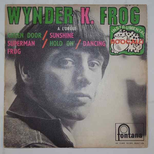 WYNDER K. FROG - Dancing Frog + 3 - 7inch (SP)
