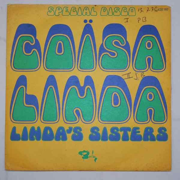 LINDA'S SISTERS - Coisa Linda / Musica Do Sol - 7inch (SP)