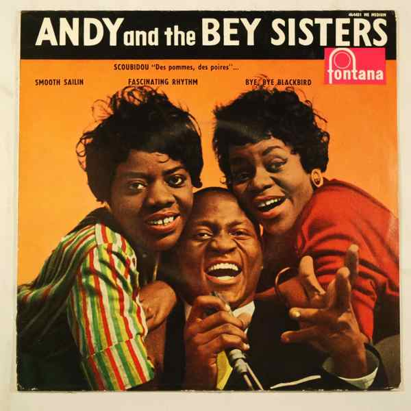 ANDY AND THE BEY SISTERS - Scoubidou + 3 - 7inch (SP)