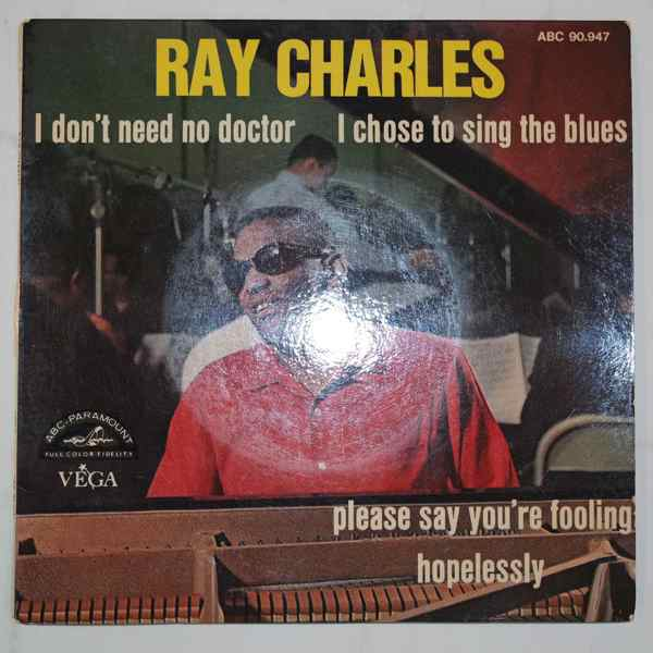 RAY CHARLES - I Don't Need No Doctor + 3 - 7inch (SP)