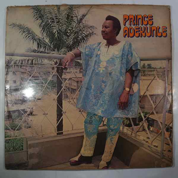 GENERAL PRINCE ADEKUNLE & HIS SUPERSONIC SOUNDS - Same - LP