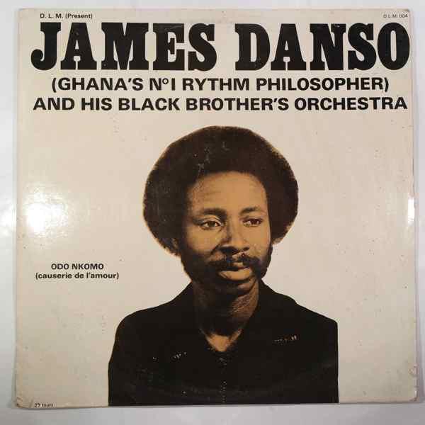 JAMES DANSO - Odo Nkomo - LP