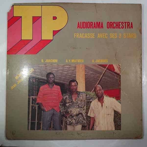TP AUDIORAMA ORCHESTRA - Fracasse avec ses 3 stars - LP